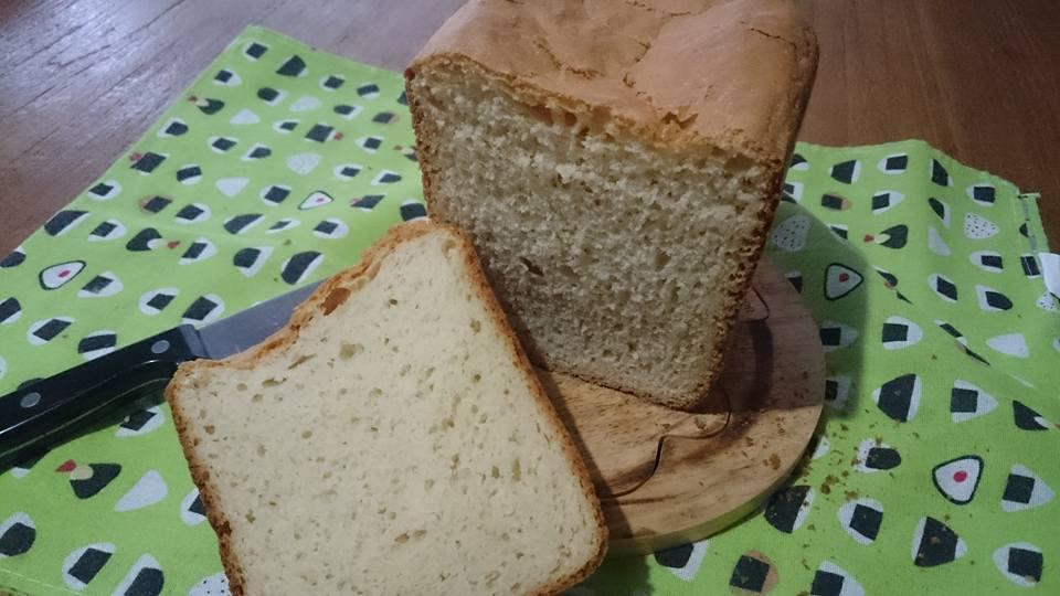 我が家の小麦100%のパン