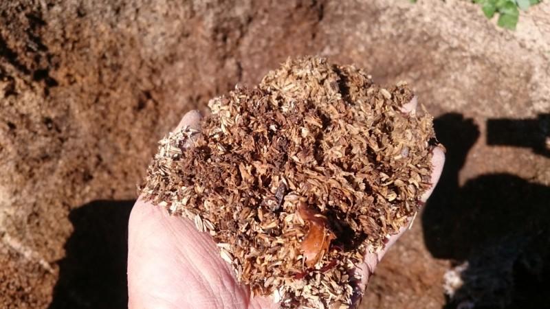 モミガラ堆肥 3年もの