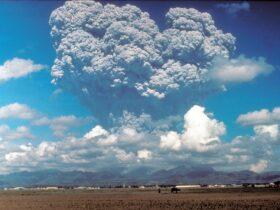ピナツボ火山の噴火
