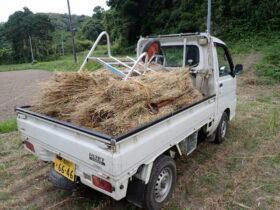 麦わら回収